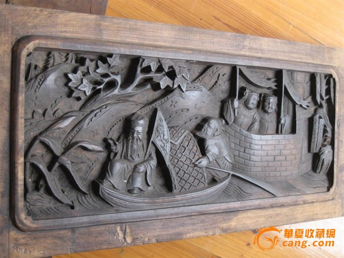 徽州木雕窗栏-图4