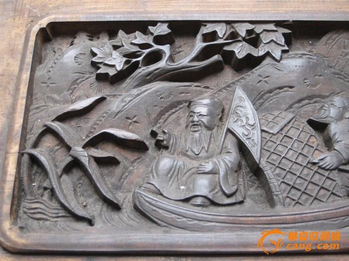 徽州木雕窗栏-图5