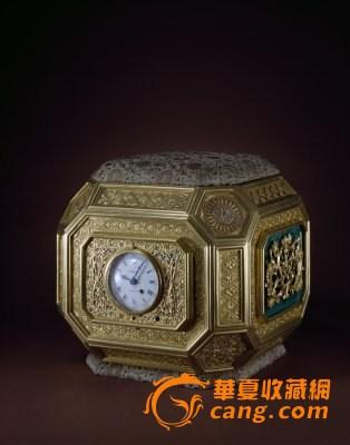 机械结构将中国传统的夜间计时方法应用在钟表上