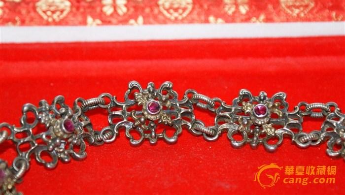 十九世古董颈链