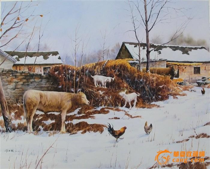 作品《北方》被北京天安门博物馆收藏.