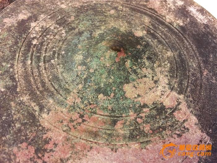 西周重环纹铜镜
