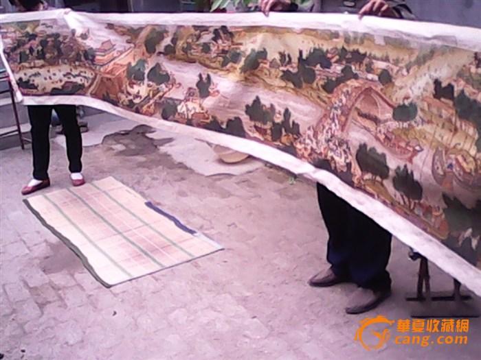 清明上河图十字绣,6米长