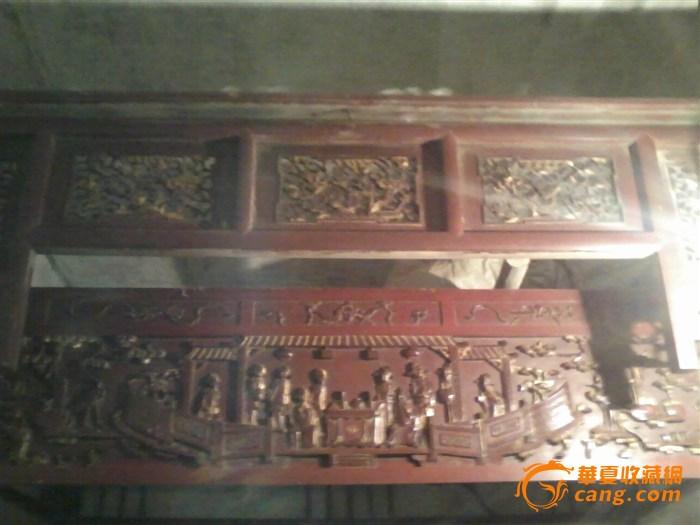 雕刻木床,刷有金漆,请问下价格!