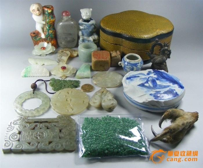 前几日杭嘉湖三地淘宝买的一些明清老玉杂 (下面有补图)