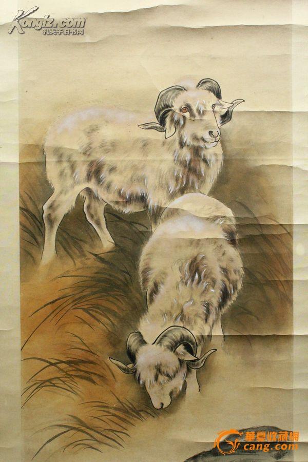 刘奎龄---动物四条屏