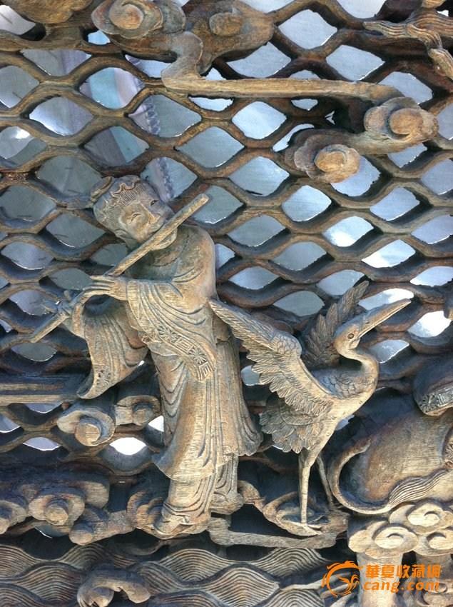 木雕 八仙过海