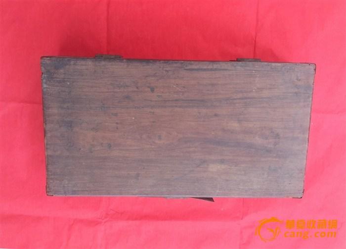 祖传古董: 海南黄花梨首饰盒,长,宽,高370x190x80mm,初步鉴定为明代