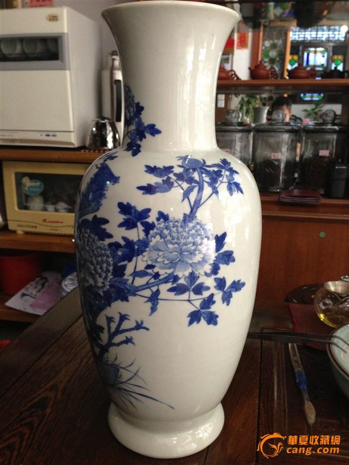 凤凰牡丹瓶