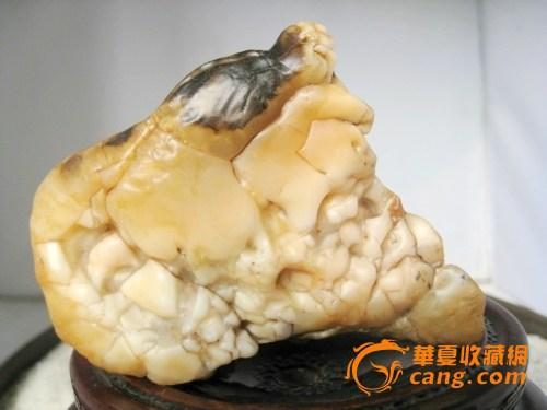 阿拉善奇石极品之七 虾图 天然无伤