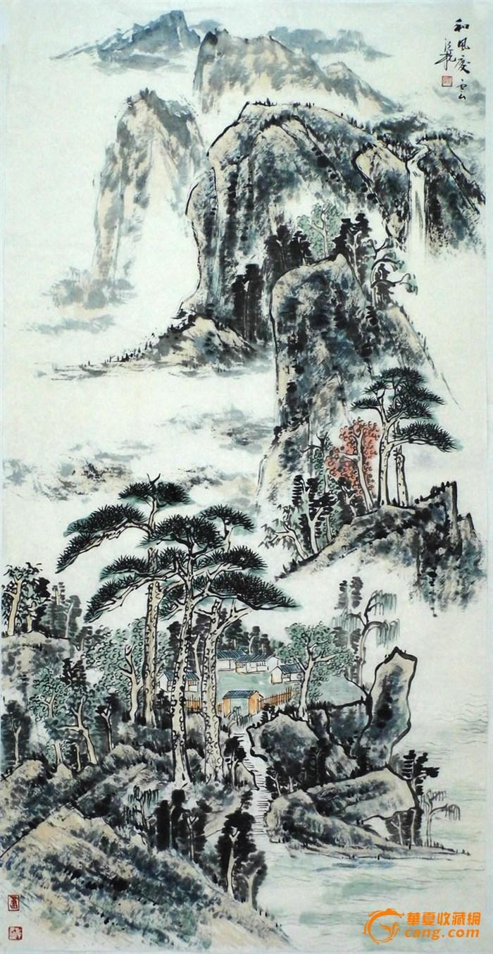 国画 700_1353 竖版 竖屏图片