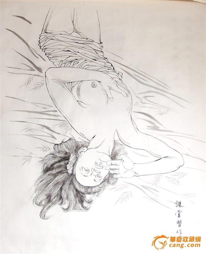 人物画习作_人物画习作鉴定_来自藏友湘野一叶风_字画
