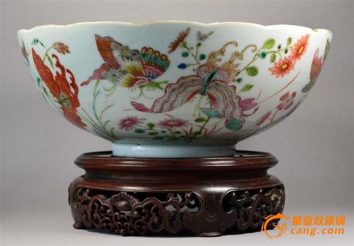 大型道光瓷碗