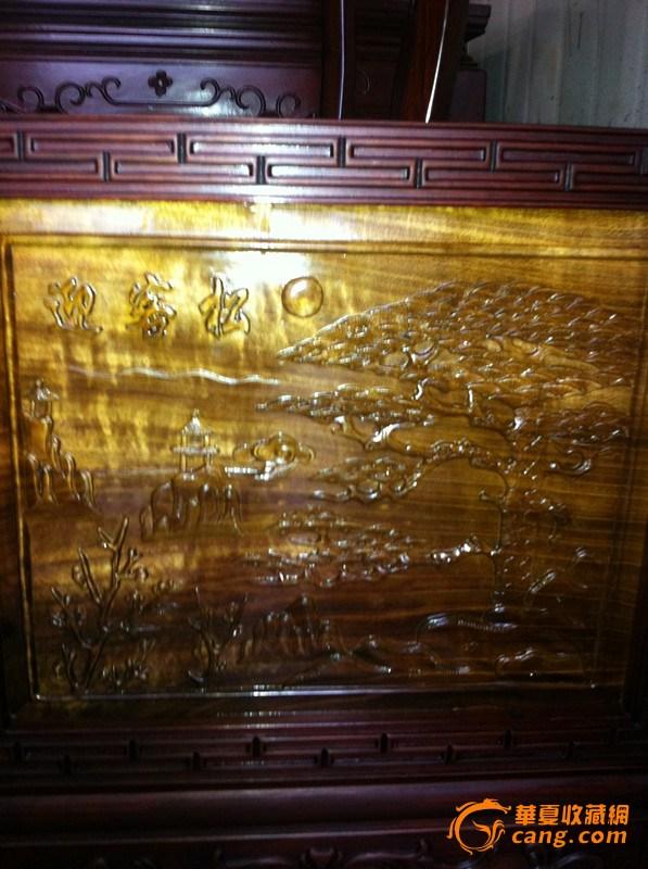 金丝楠木插屏,来自藏友金丝楠木船-木器-楠木-藏品