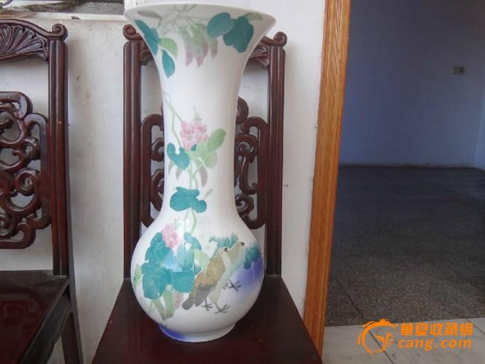 现代官窑精品花瓶