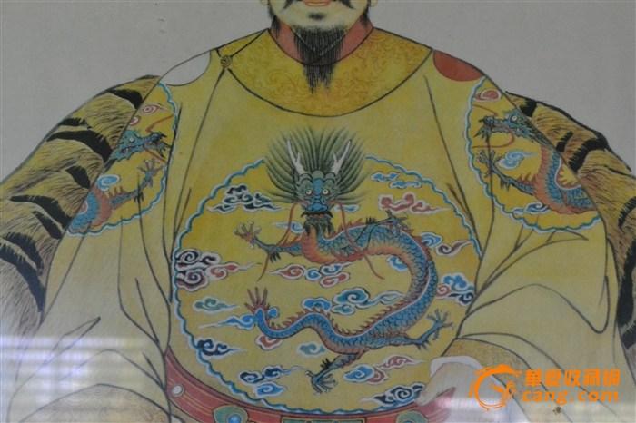 两副明朝皇帝/皇后画像