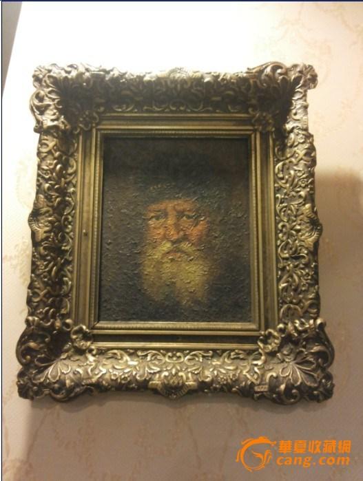 欧式古董油画——西洋油画