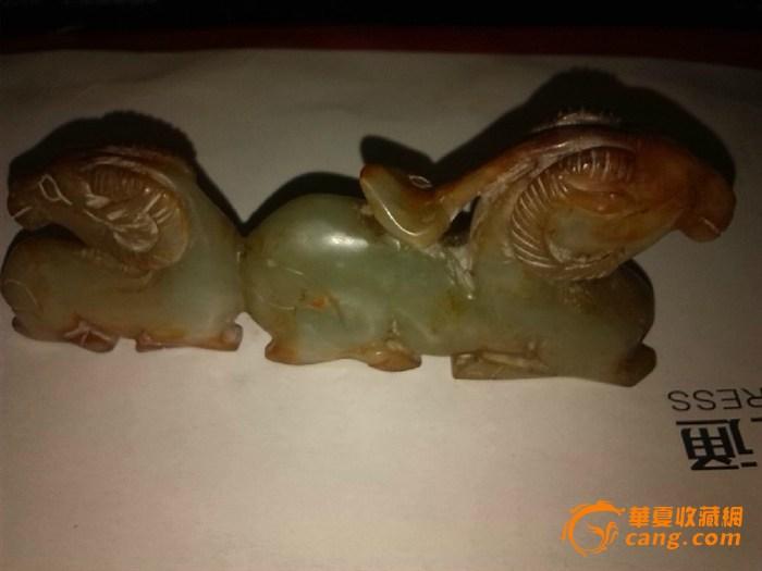 玉石圆雕作品动物