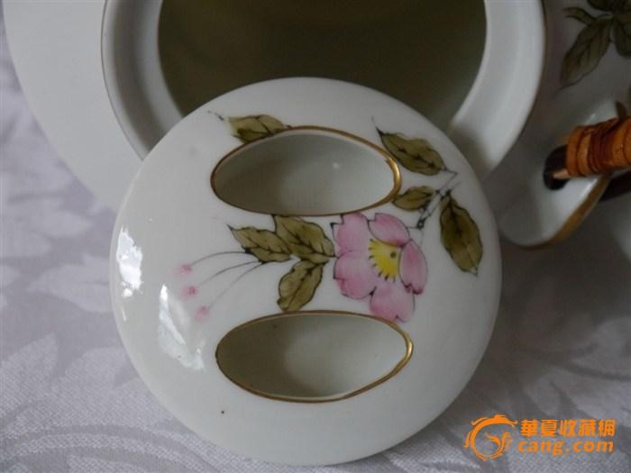 粉彩人物提梁茶壶3