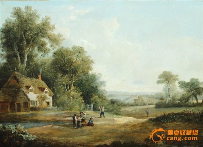 19世纪英国油画_19世纪英国油画鉴定_来自藏