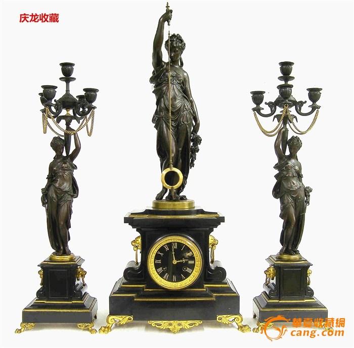 法国大师Guilmet三套件神秘钟