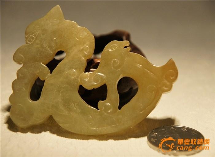 龙形金色圆圈边框