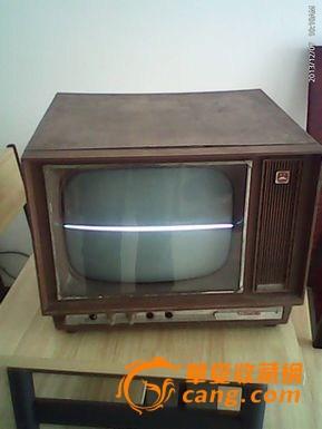 北京825-2型电子管电视机