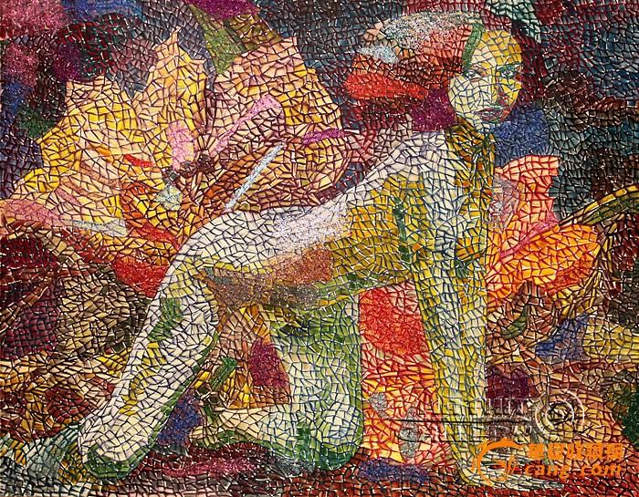 现代油画艺术图片