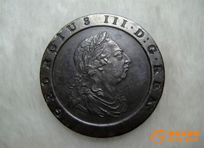 *英国两便士车轮铜币,请老师看真假并估价,谢谢*