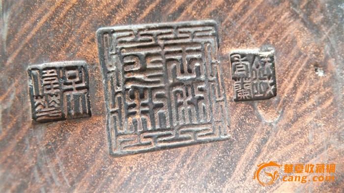 吴伟华/此紫砂花瓶为一对,底款三个人的印章,由于本人篆书识别能力...
