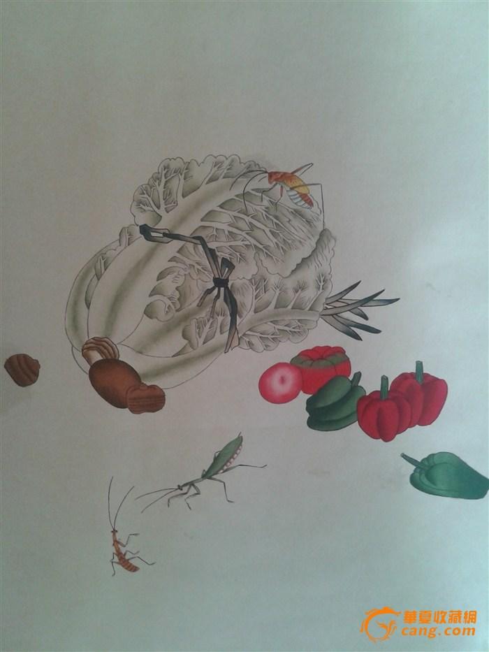 梅兰芳先生 瓜果蔬菜