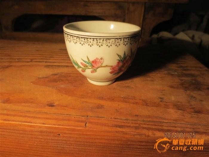 老式茶杯矢量图