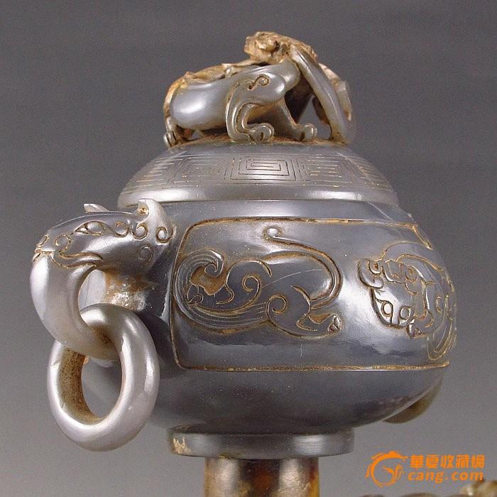 玉大象香炉