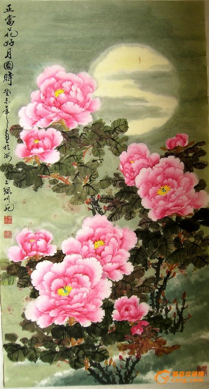1942年生于青岛平度,从事书画教育50年,曾任职于中国牡丹