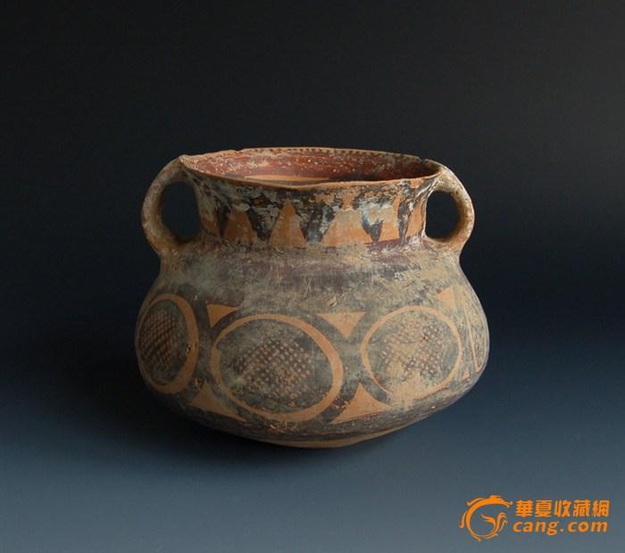 马家窑彩陶罐1