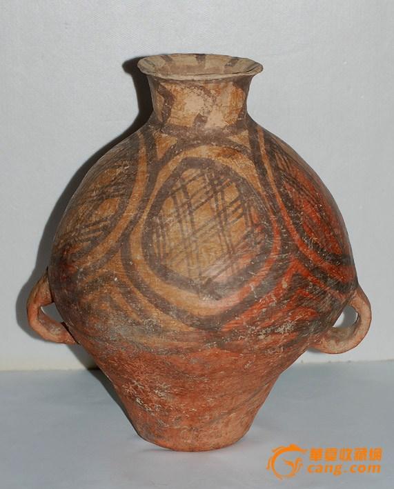 马家窑彩陶罐2
