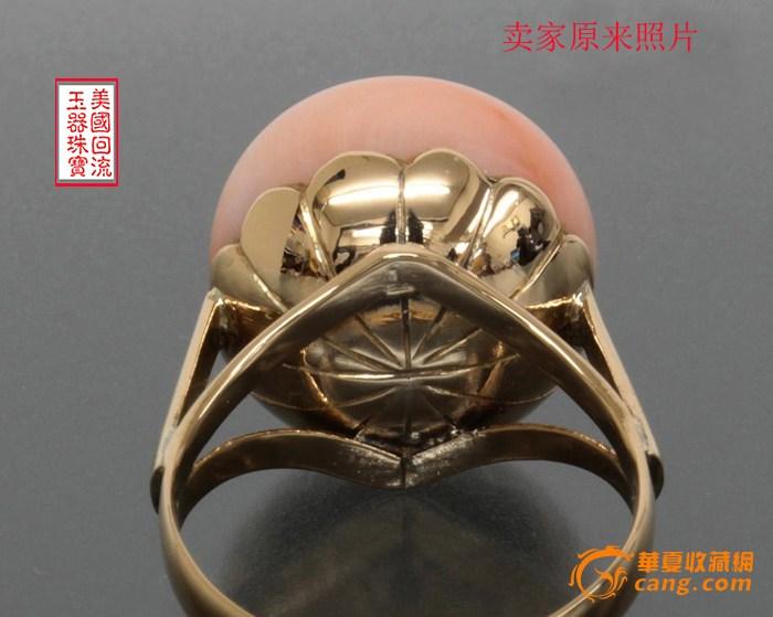 18k粉色大球珊瑚戒指探秘【和深海天使面及日本天使肌肤对比】