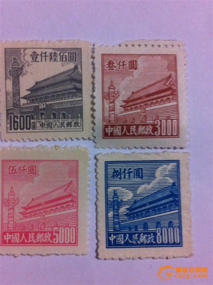 天安门邮票