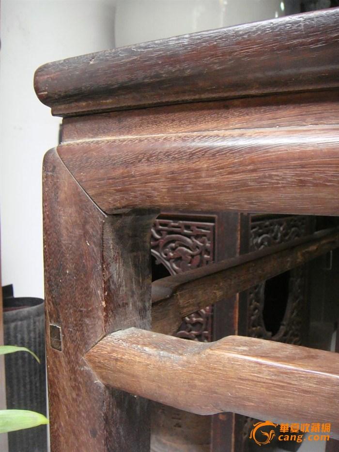 清代明式榫卯结构红木大八仙桌