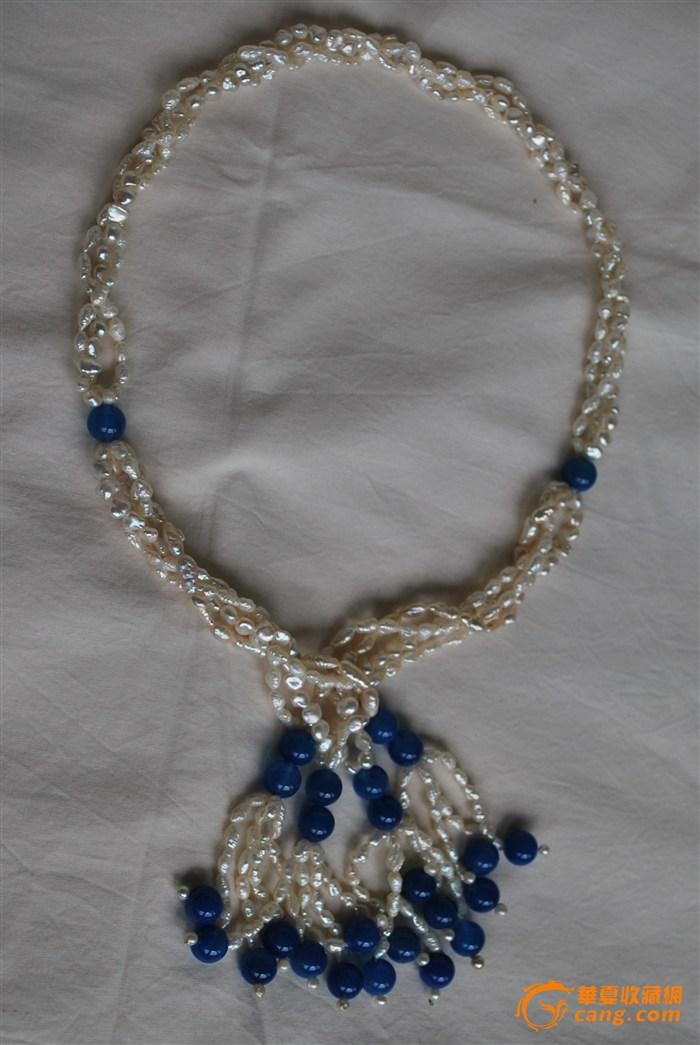 diy串 时尚珍珠项链