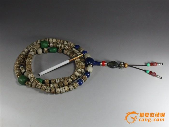 藏式108颗星月菩提多宝佛珠