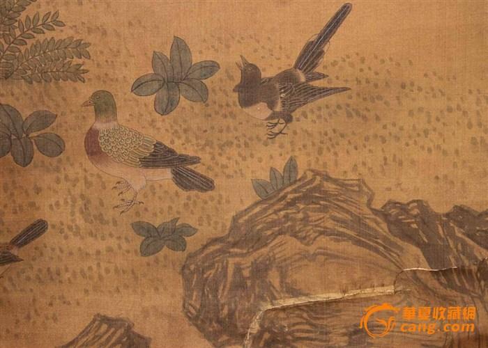 文徵明柳绿莺歌春风图
