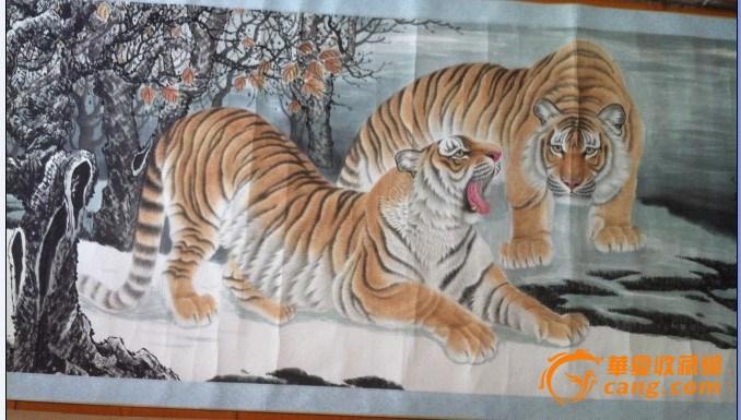儿童国画老虎作画步骤