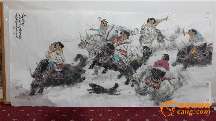 中美协会员,天水师范学院教授王骁勇精品国画