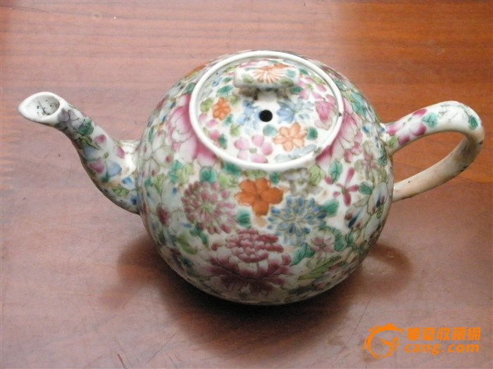 大清乾隆年制 茶壶图片