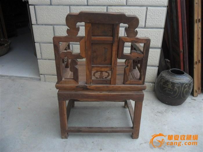 崖柏木头椅子设计图