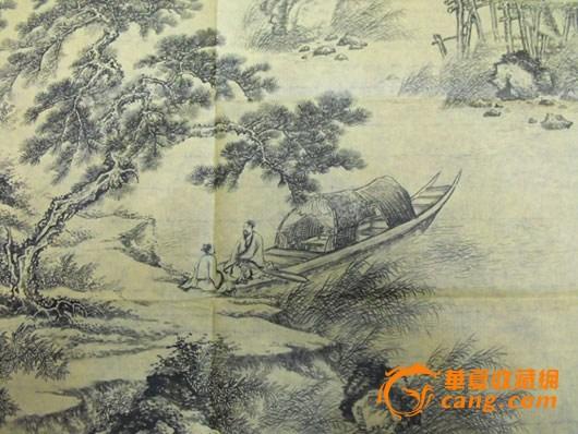 清代名画家李方膺款山水人物画(图片之一)【通古藏珍阁】