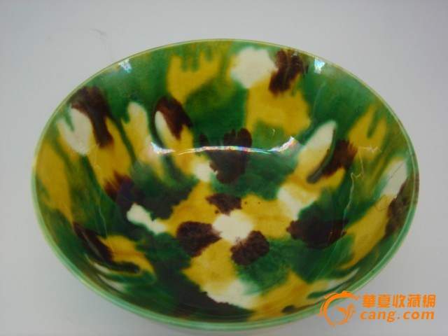 简说清代几种低温混色釉瓷器
