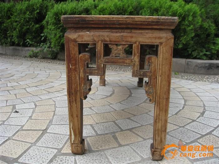 榉木春凳-图2