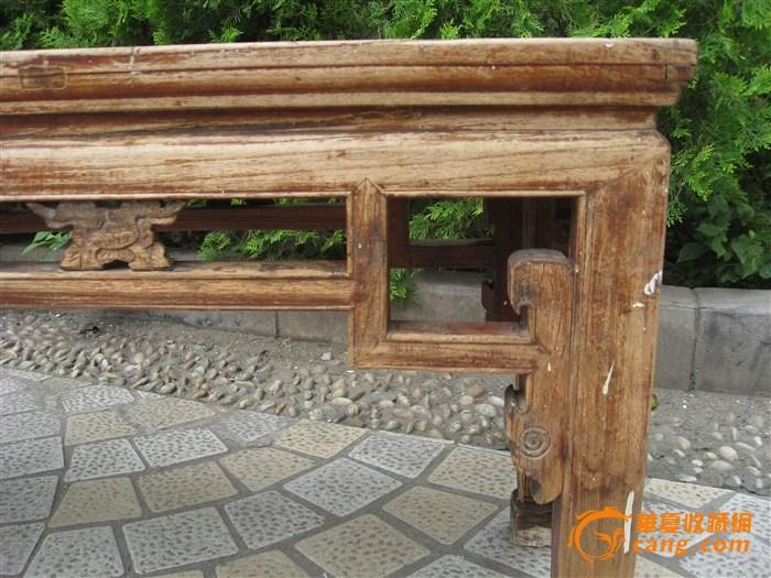 榉木春凳-图3